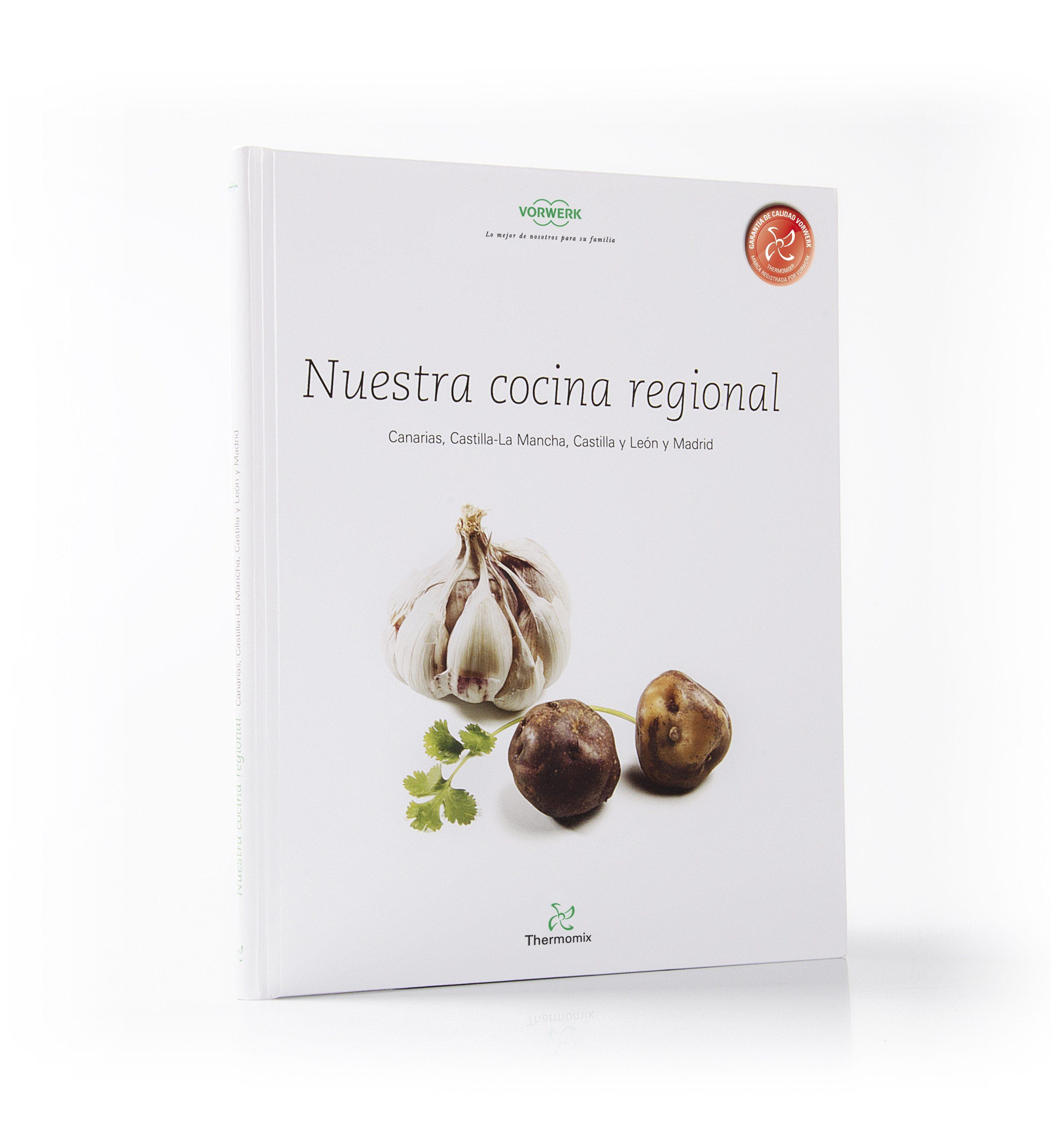 nuestra cocina regional canarias, castilla-la mancha, castilla y leon y madrid-9788461463701