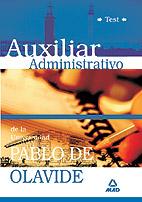 Auxiliar Administrativo De La Universidad Pablo De Olavide. Test por Vv.aa. epub