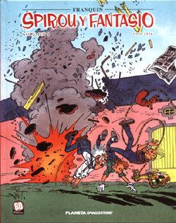 Spirou Y Fantasio 4: 1954-1956 por Andre Franquin