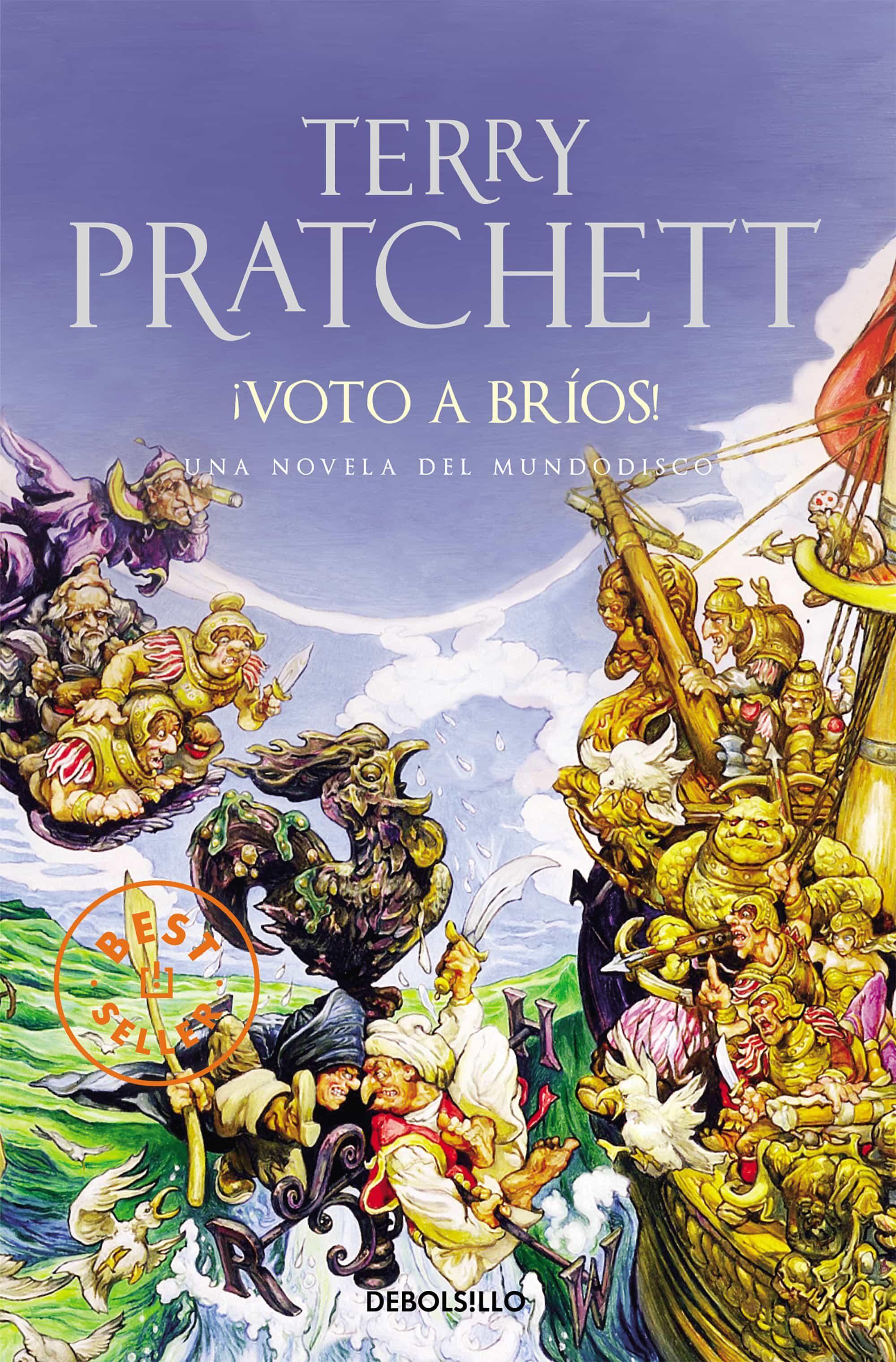 ¡voto A Brios! (mundodisco 21 / La Guardia De La Ciudad 4) por Terry Pratchett