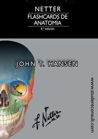 netter. flashcards de anatomía 4ª edicion-j.t. hansen-9788491131601