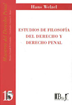 estudio de filosofia del derecho y derecho penal-hans welzel-9789974578401