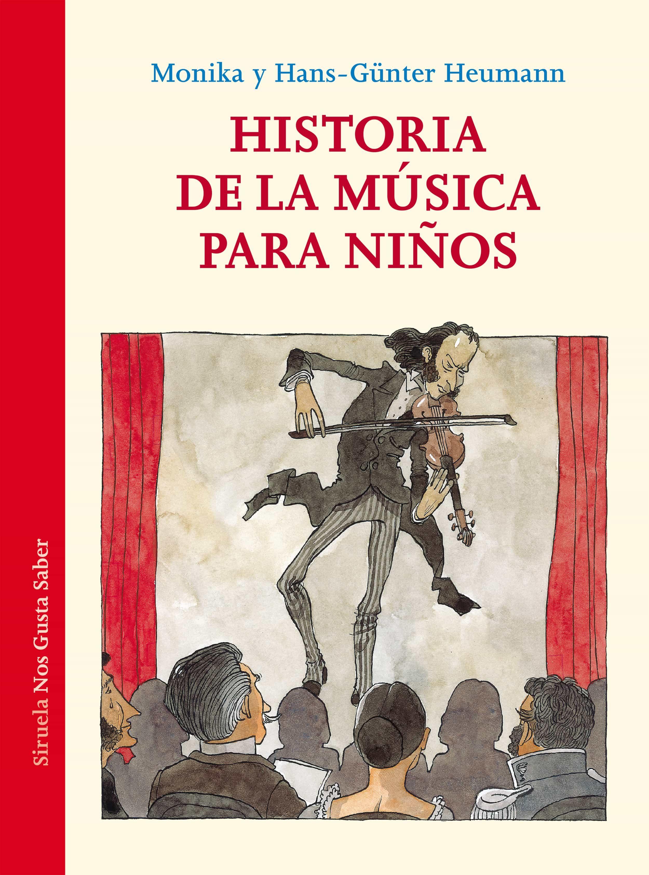 Historia De La Musica Para Niños por Monika Heumann