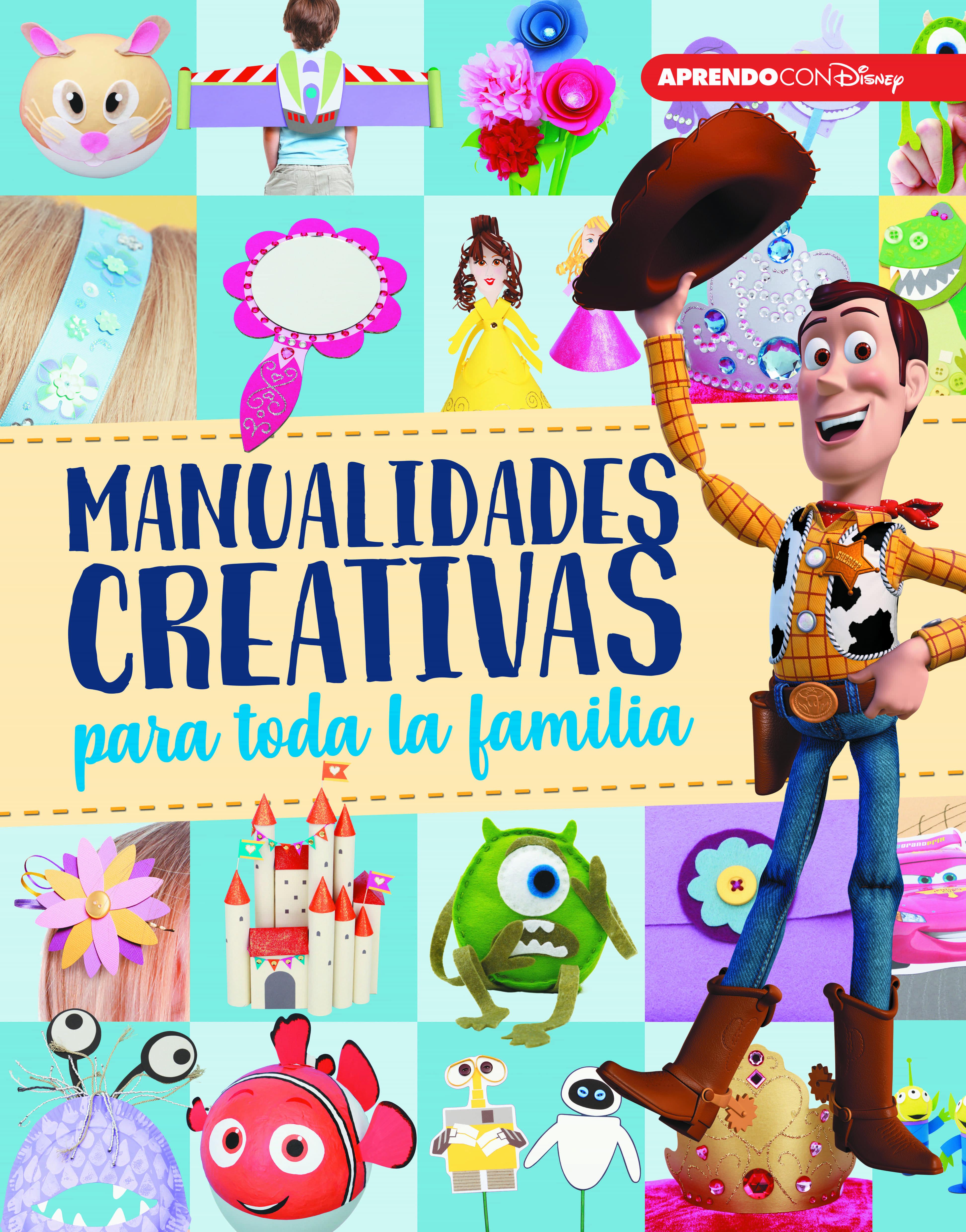 Manualidades Creativas Para Toda La Familia (crea, Juega Y Aprende Con Disney) por Vv.aa.