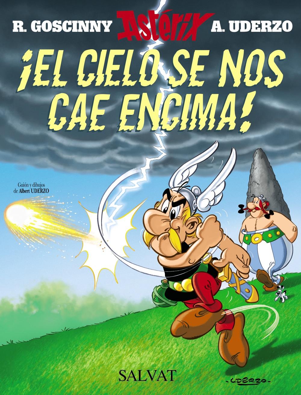 Astérix. ¡El Cielo Se Nos Cae Encima!,Goscinny; Uderzo,Salvat  tienda de comics en México distrito federal, venta de comics en México df