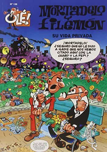 mortadelo y filemon nº 139: su vida privada-francisco ibañez-9788440685711