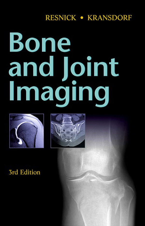 Bone And Joint Imaging Resnick Pdf