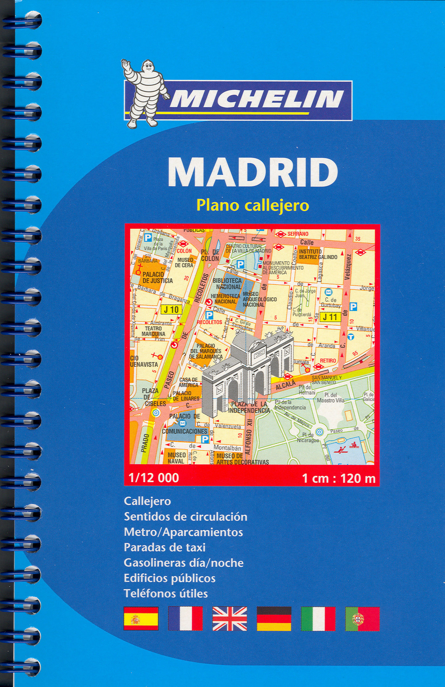 PLANO MICHELIN MADRID REF2042  VVAA  Comprar libro