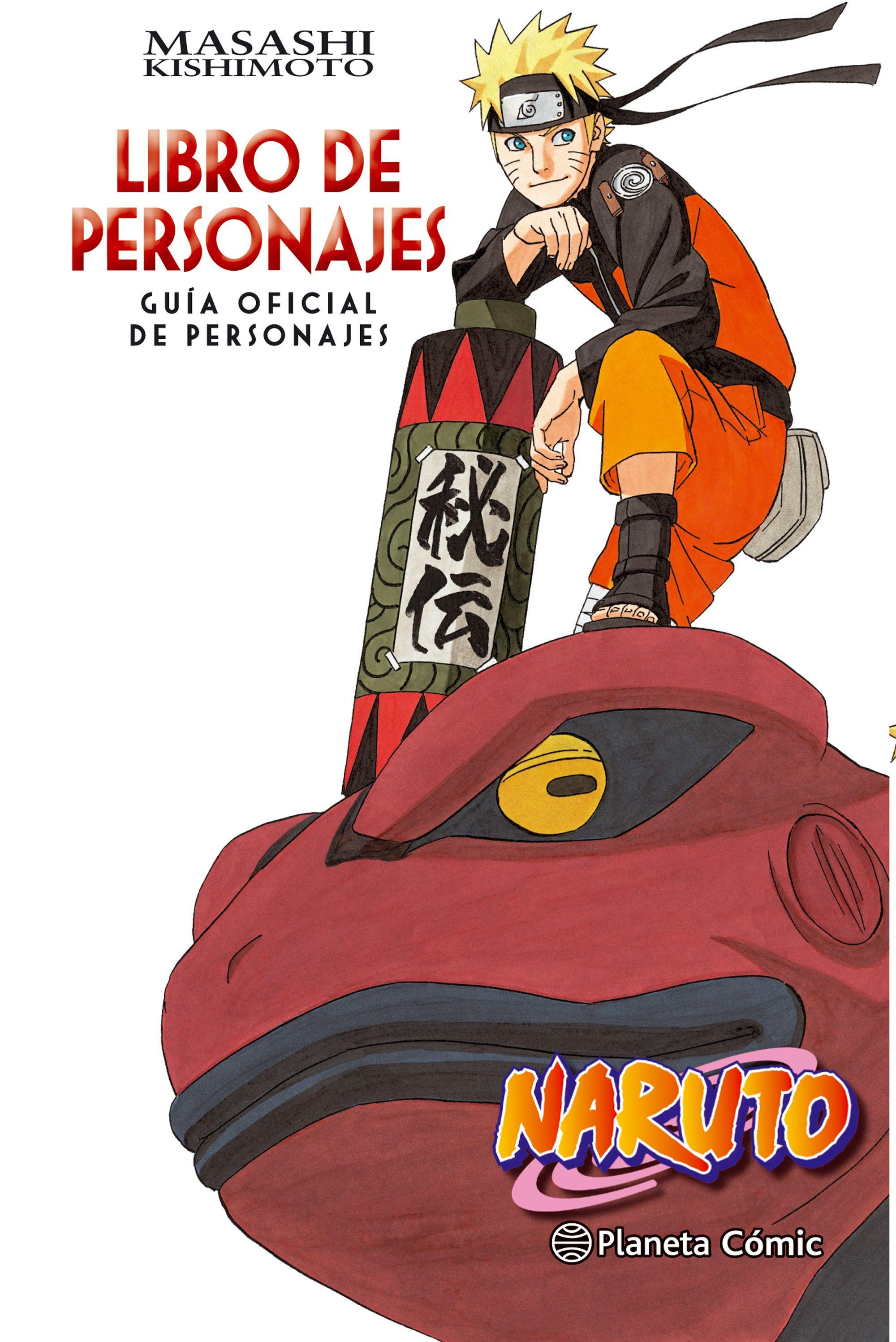 naruto guia nº03 libro de personajes-masashi kishimoto-9788416889921