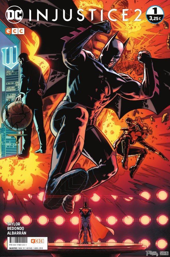 Injustice Vol.2 59/1 por Tom Taylor;                                                           Bruno Redondo
