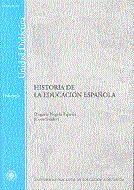 Historia De La Educacion Española (unidad Didactica) por Negrin Fajardo Olegario
