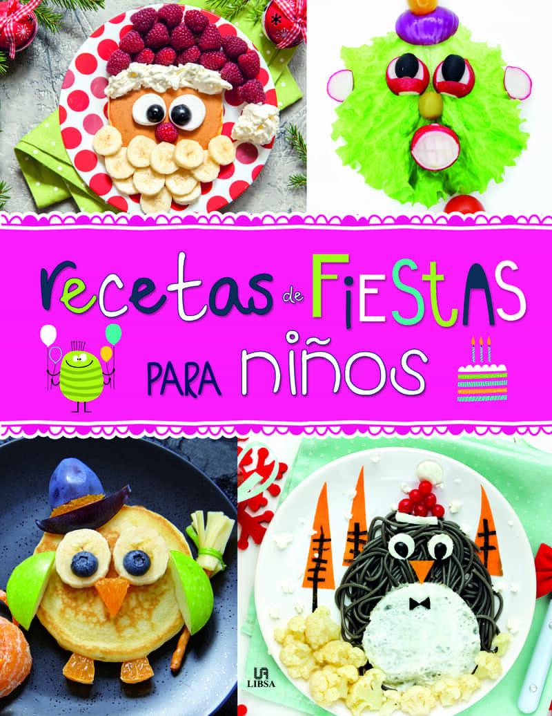 Resultado de imaxes para recetas de fiesta para niños. libro