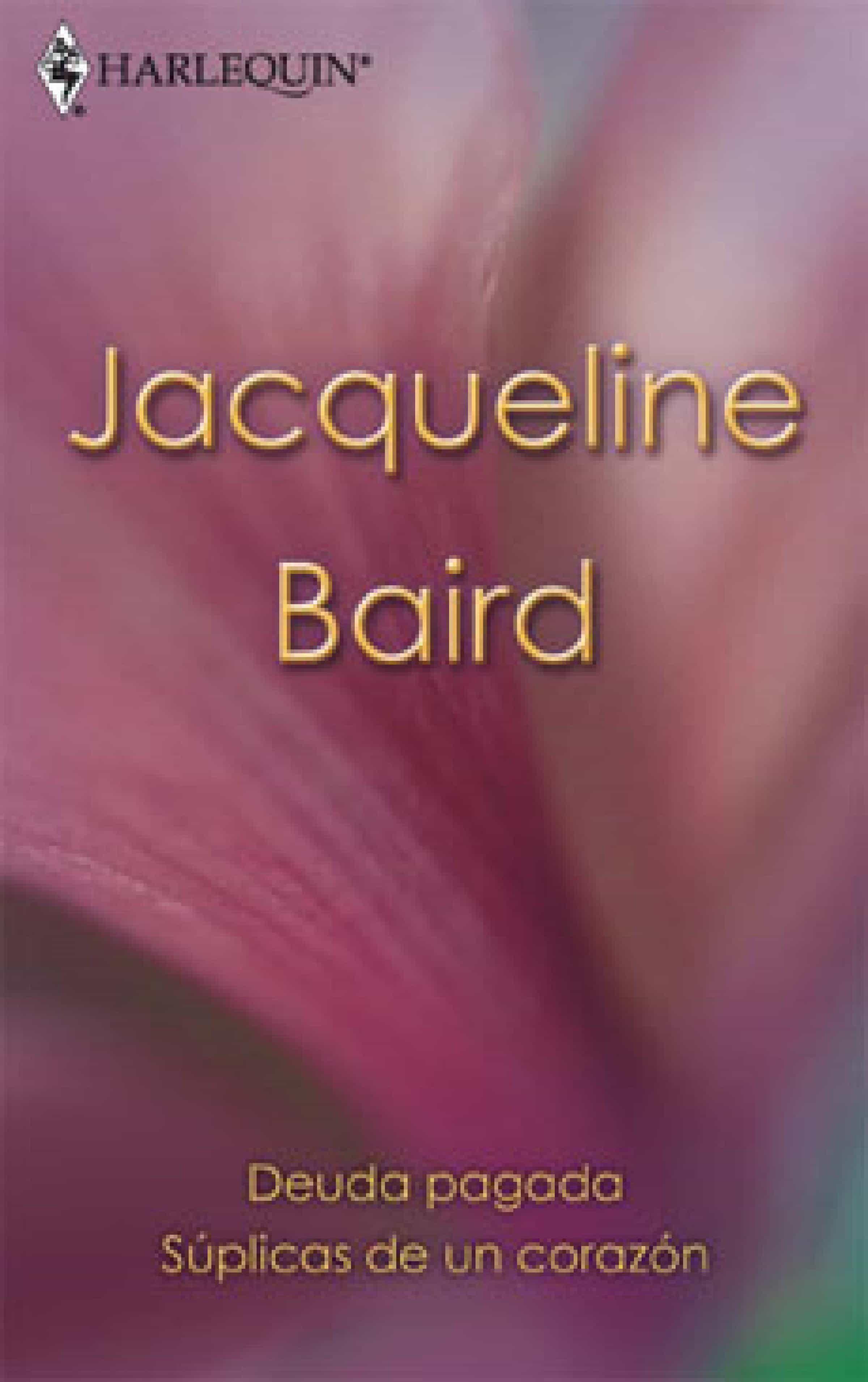 deuda pagada jacqueline baird