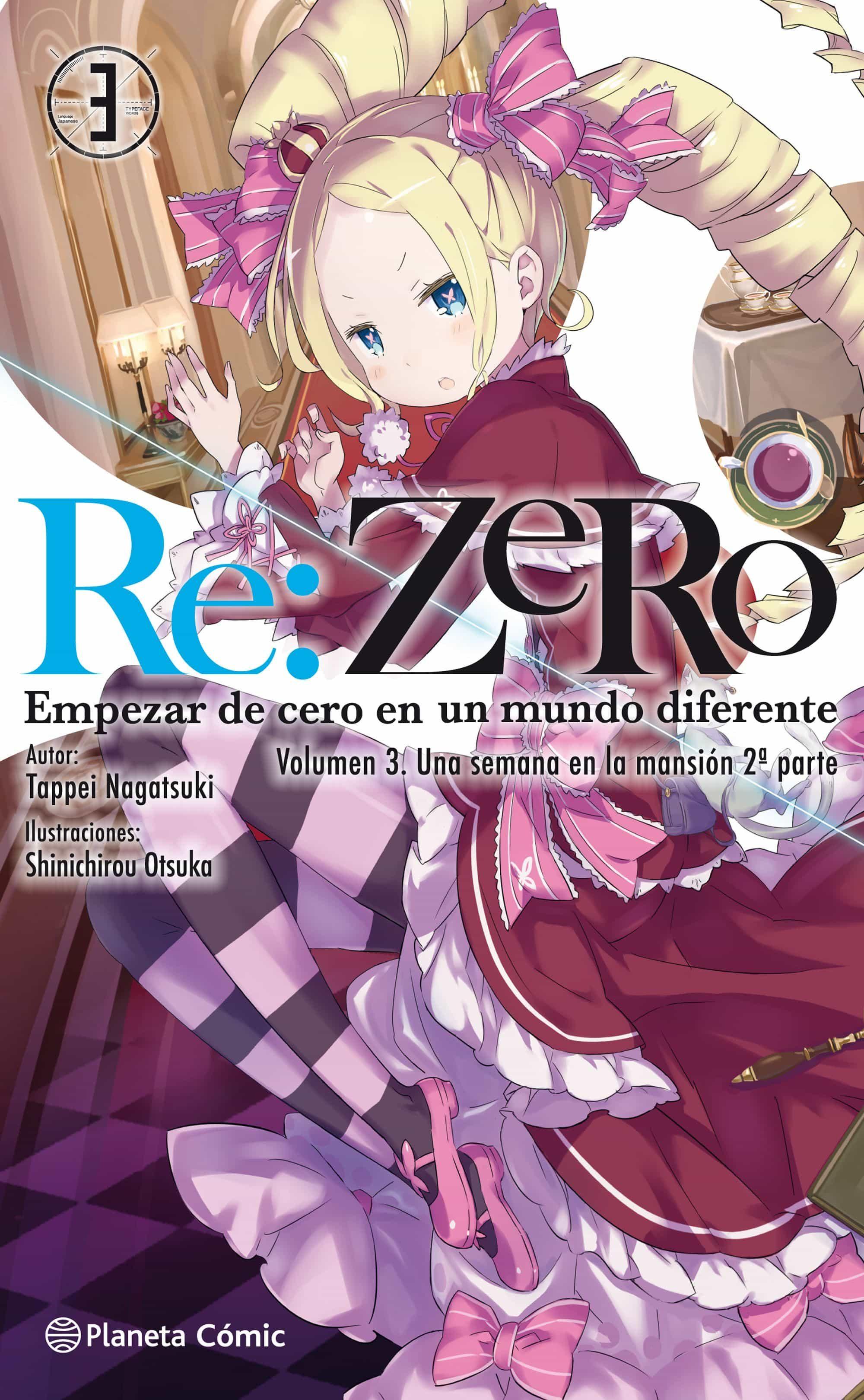 Re:zero (novela) Nº 03 por Tappei Nagatsuki;                                                           Shinichirou Otsuka