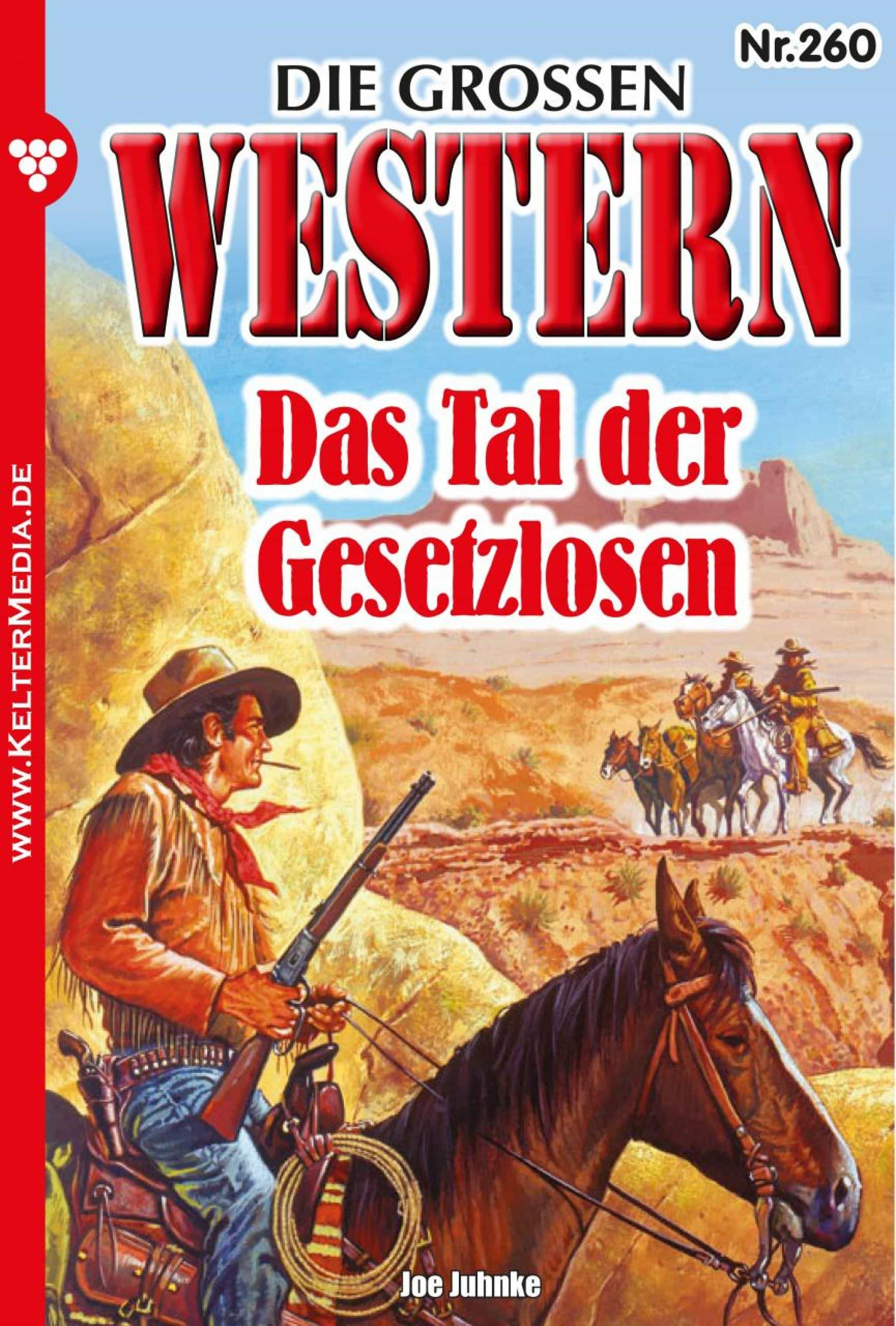 die grossen western 260 (ebook)-joe juhnke-9783740933531