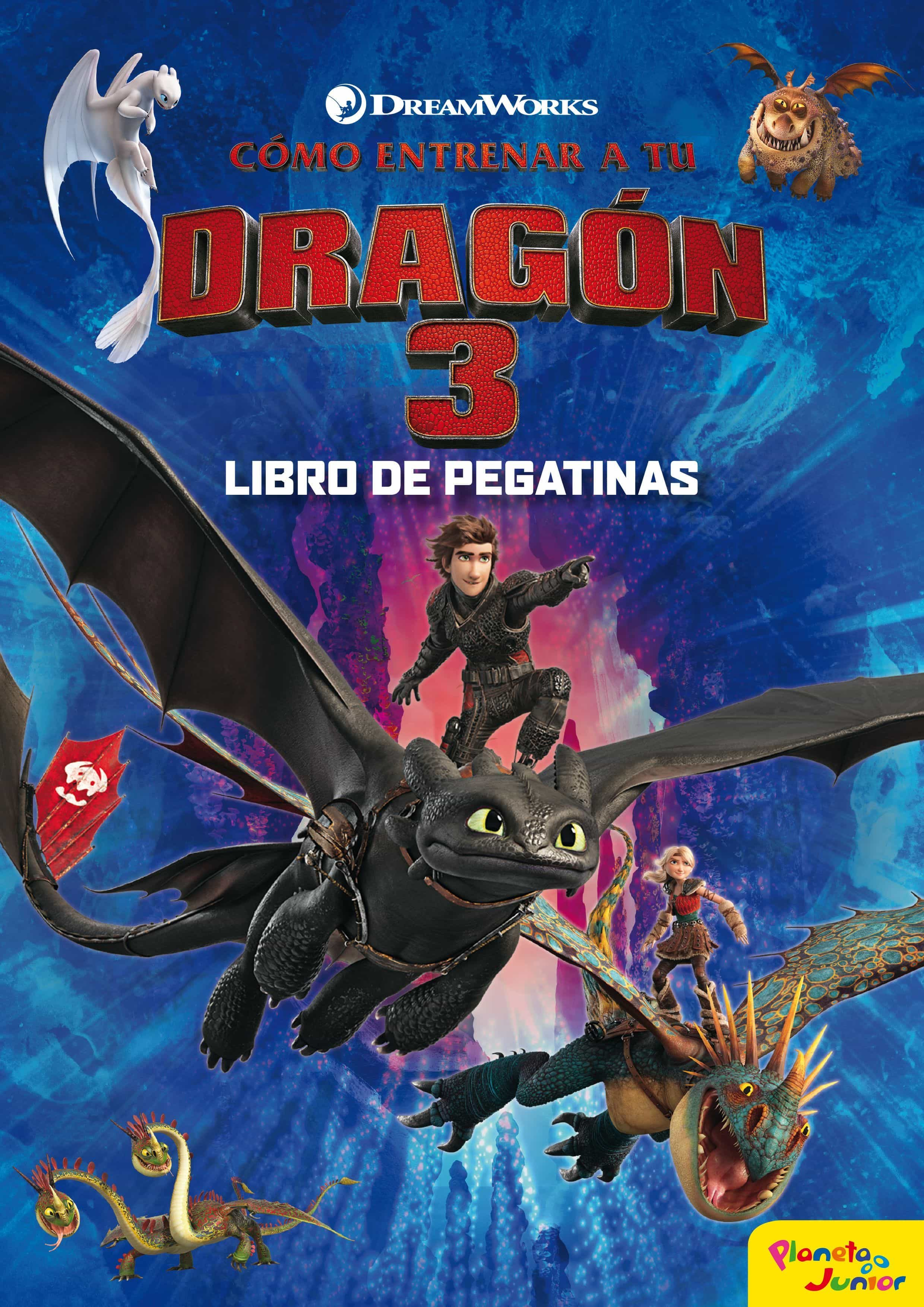 Como Entrenar A Tu Dragon 3 (libro De Pegatinas) por Dreamworks