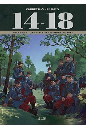 14-18 vol. 1 (agosto y septiembre de 1914)-9788417085131