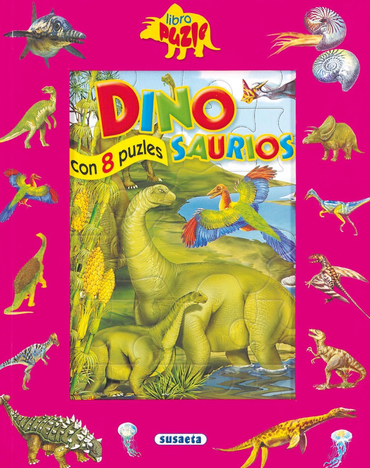 Dinosaurios (libro Puzzle) por Vv.aa. epub