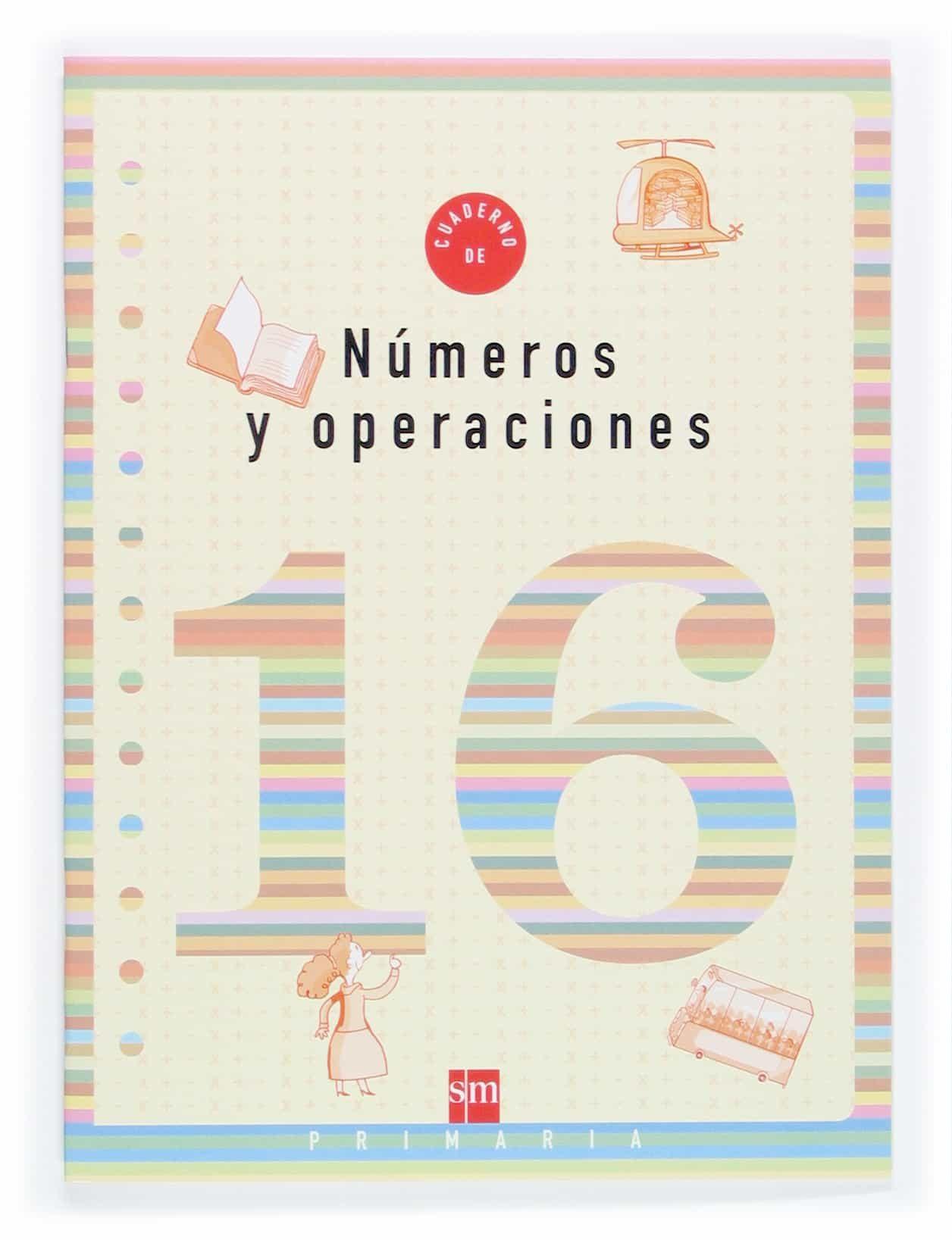 Cuaderno De Numeros 16 (6º Educacion Primaria) por Vv.aa. epub
