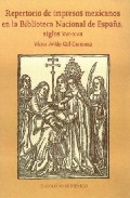 Repertorio De Impresos Mexicanos En La Biblioteca Nacional De Esp Aña, Siglos Xvi-xvii por Victor Julian Cid Carmona epub