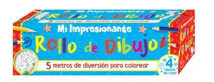 Mi Impresionante Rollo De Dibujo Libro De Colorear Vvaa