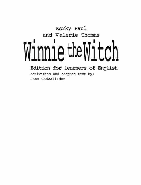 winnie the witch-valerie thomas-paul korky-9780194319041