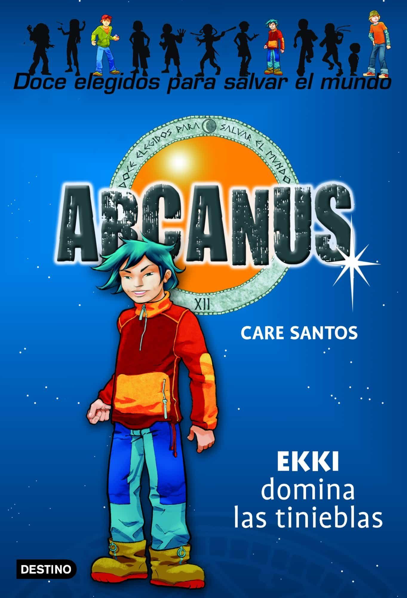 Arcanus 3. Ekki Domina Las Tinieblas por Care Santos