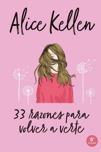 Resultado de imagen para 33 razones para volver a verte, de Alice Keller.