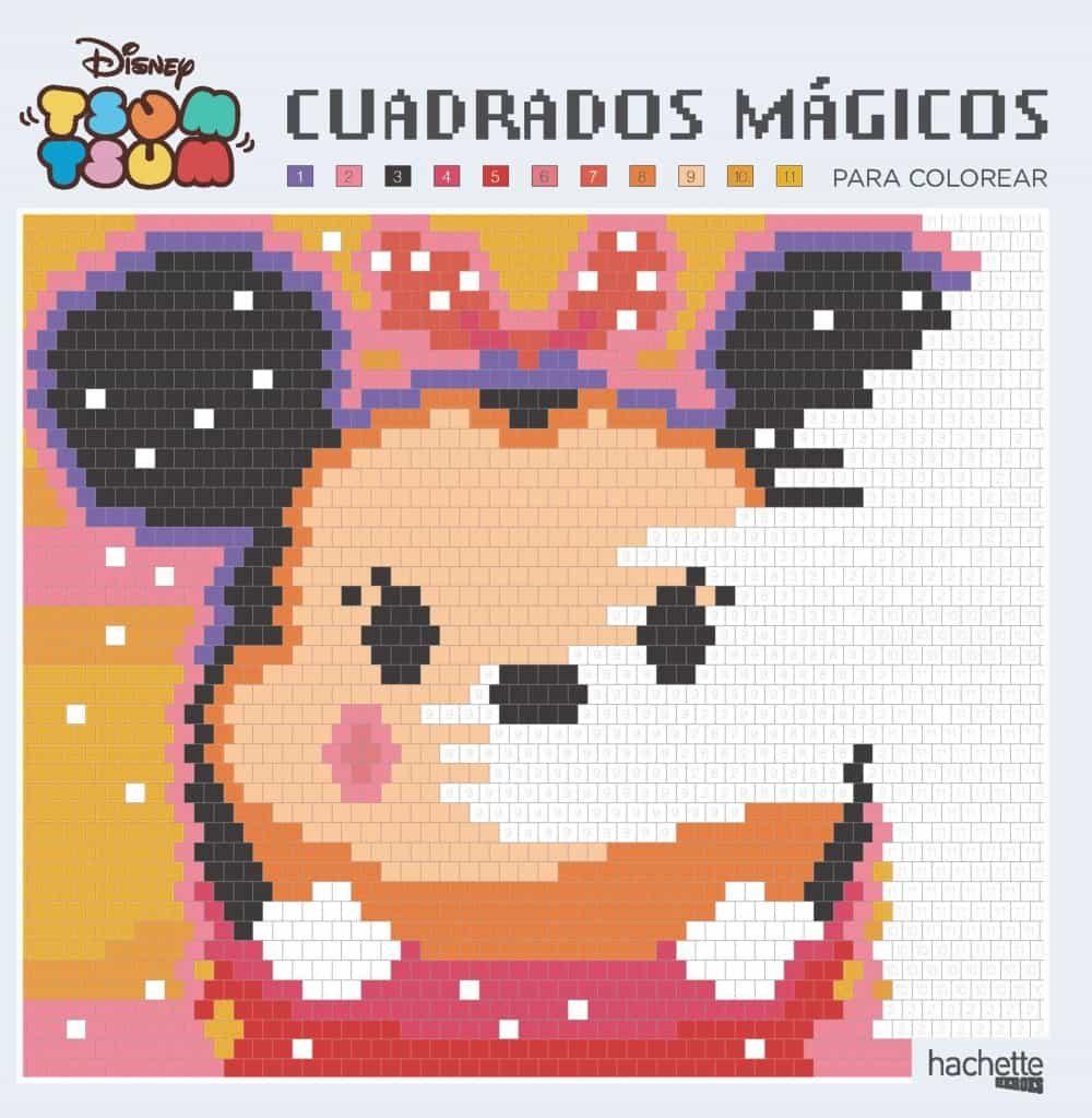 Cuadrados Mágicos Para Colorear Disney Tsum Tsum Vvaa Comprar Libro 9788417240141