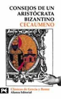 consejos de un aristocrata bizantino-9788420635941