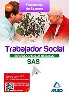 trabajadores sociales del servicio andaluz de salud: simulacros de examen-9788490931141