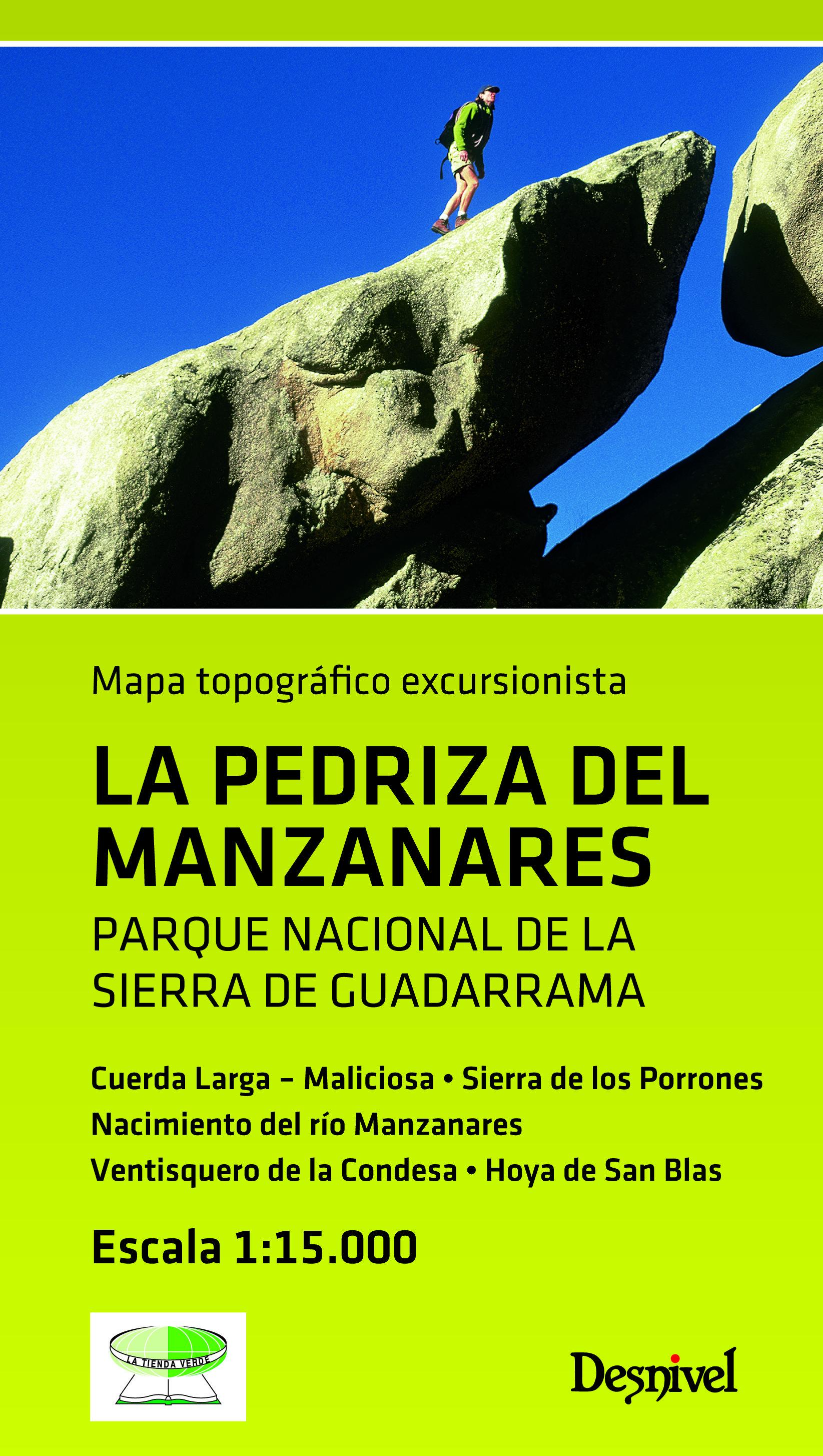 descargar LA PEDRIZA DEL MANZANARES (1:15000) pdf, ebook