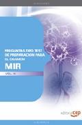 preguntas tipo test preparacion para el examen mir (vol. iii)-9788499248141