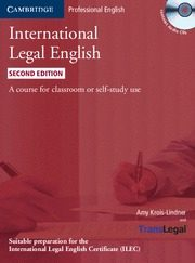 international legal english student s: 3 audio cd & 1 paperback-9780521279451