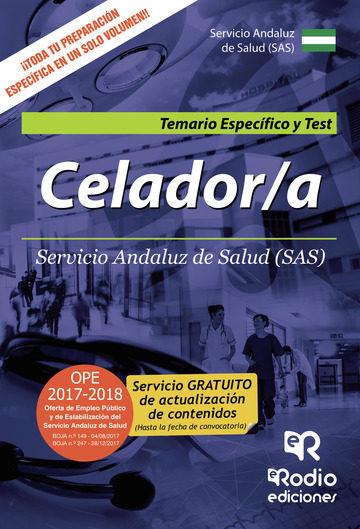 Celador/a. Servicio Andaluz De Salud (sas). Temario Específico Y Test   por Vv.aa.
