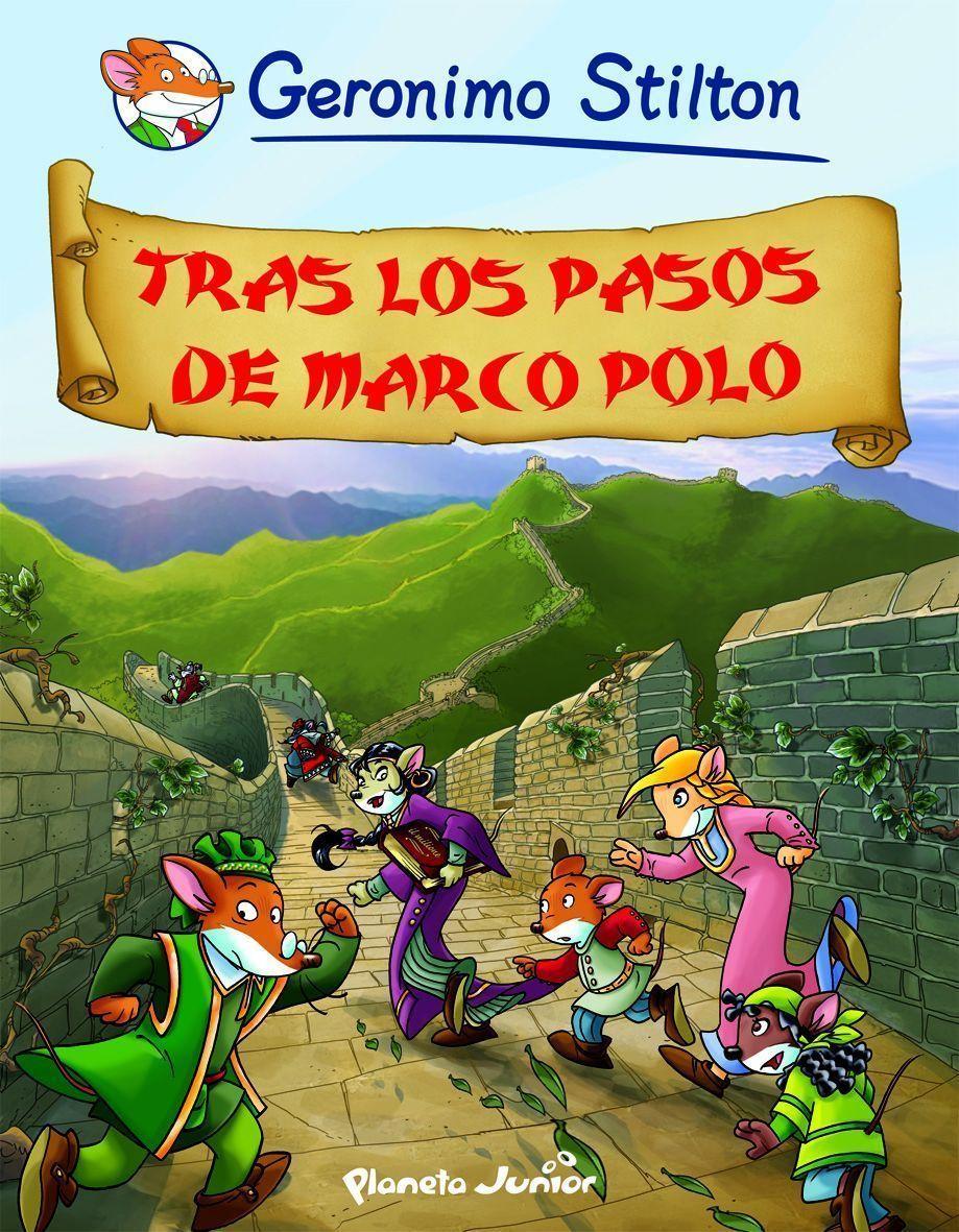 PE) COMIC GERONIMO STILTON 5: TRAS LOS PASOS DE MARCO POLO | VV.AA ...