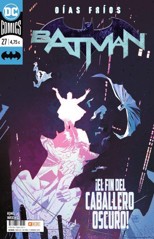 Batman Nº 82/27 (renacimiento) por Tom King;                                                                                    Lee Weeks