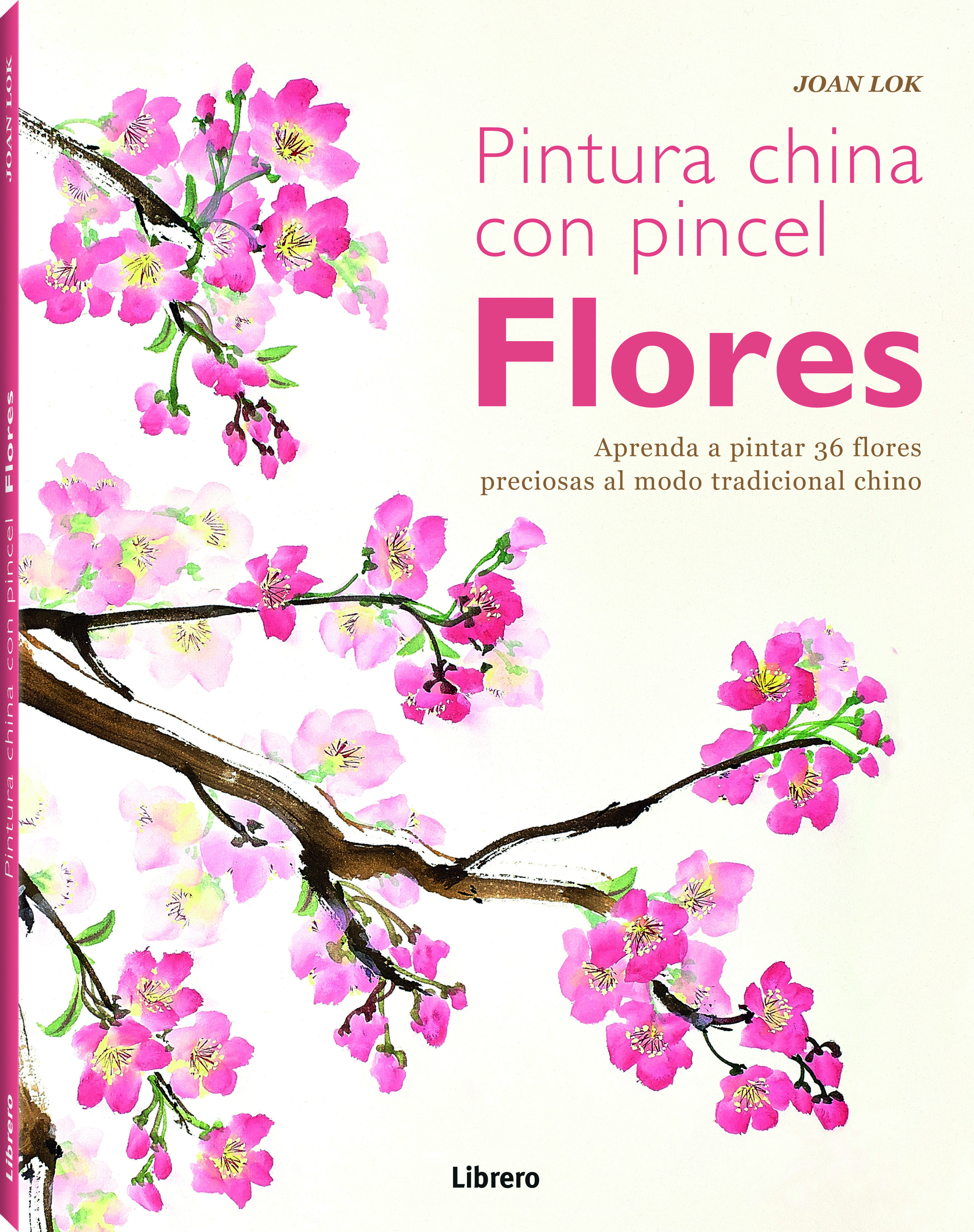 (pe) pintura china con pincel: flores-joan lock-9789089984951