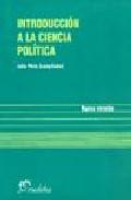 Introduccion A La Ciencia Politica por Julio Pinto Gratis