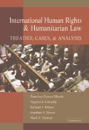International Human Rights And Humanitarian Law por Francisco Forrest Martin epub