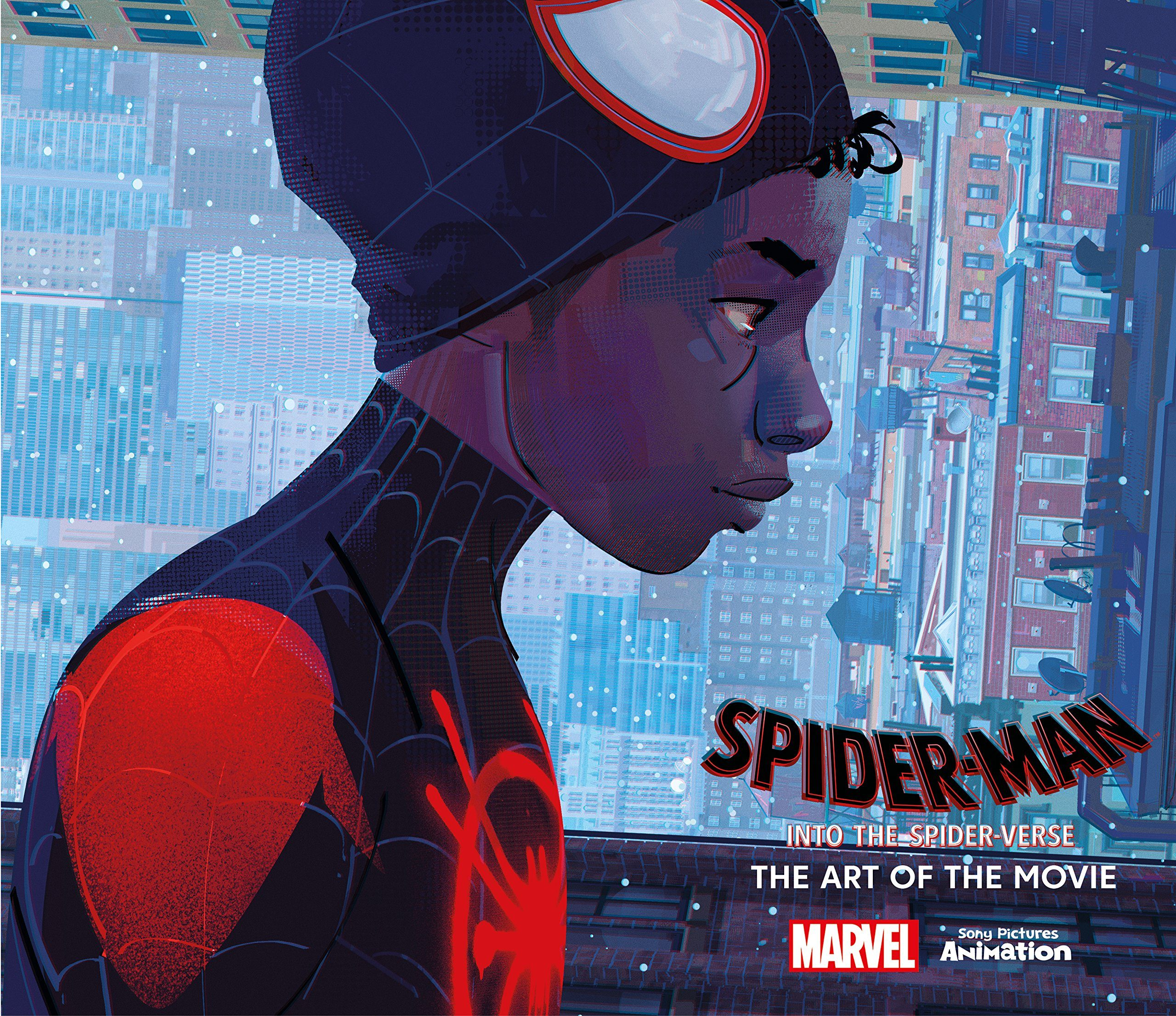 spider-man: into the spider-verse: the art of the movie-ramin zahed-9781785659461