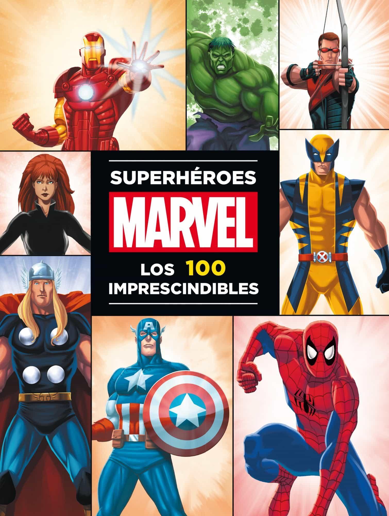superheroes marvel los 100 imprescindibles vv aa comprar libro 9788415343561. Black Bedroom Furniture Sets. Home Design Ideas