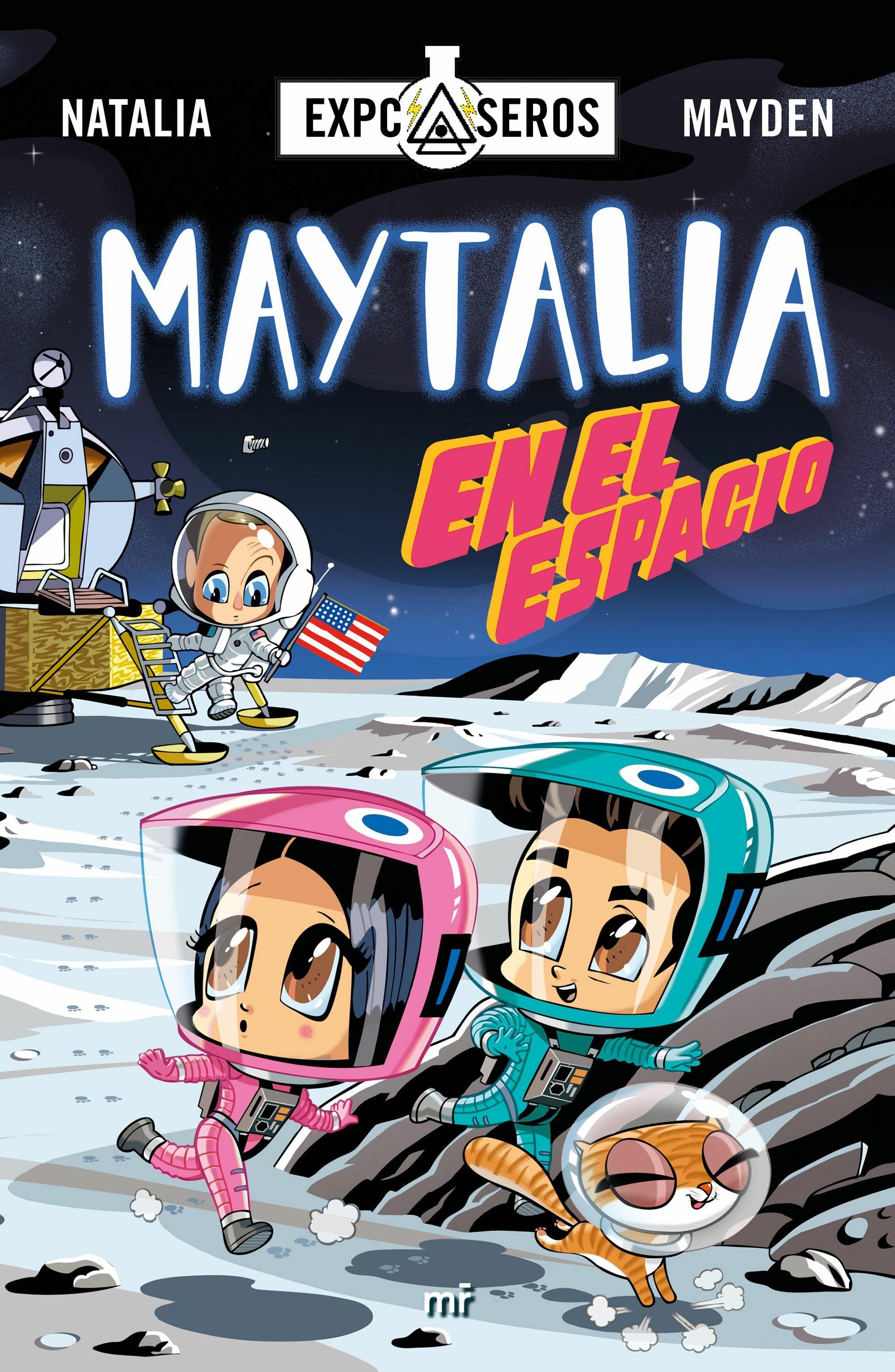 Maytalia En El Espacio por Natalia;                                                                                    Mayden