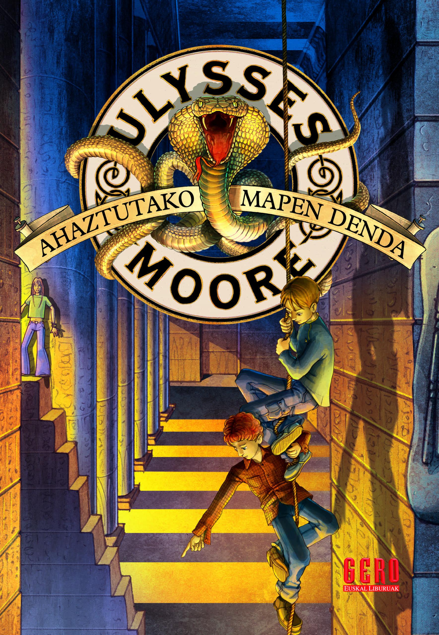 Ulysses Moore:ahaztutako Mapen Denda por Pierdomenico Baccalario