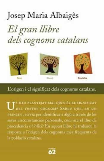 El Gran Llibre Dels Cognoms Catalans por Josep M. Albaiges epub