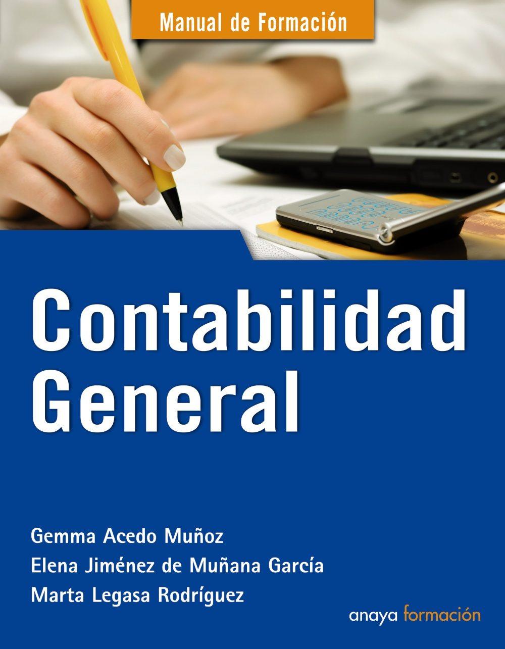 contabilidad general manual de formacion gemma acedo muÑoz