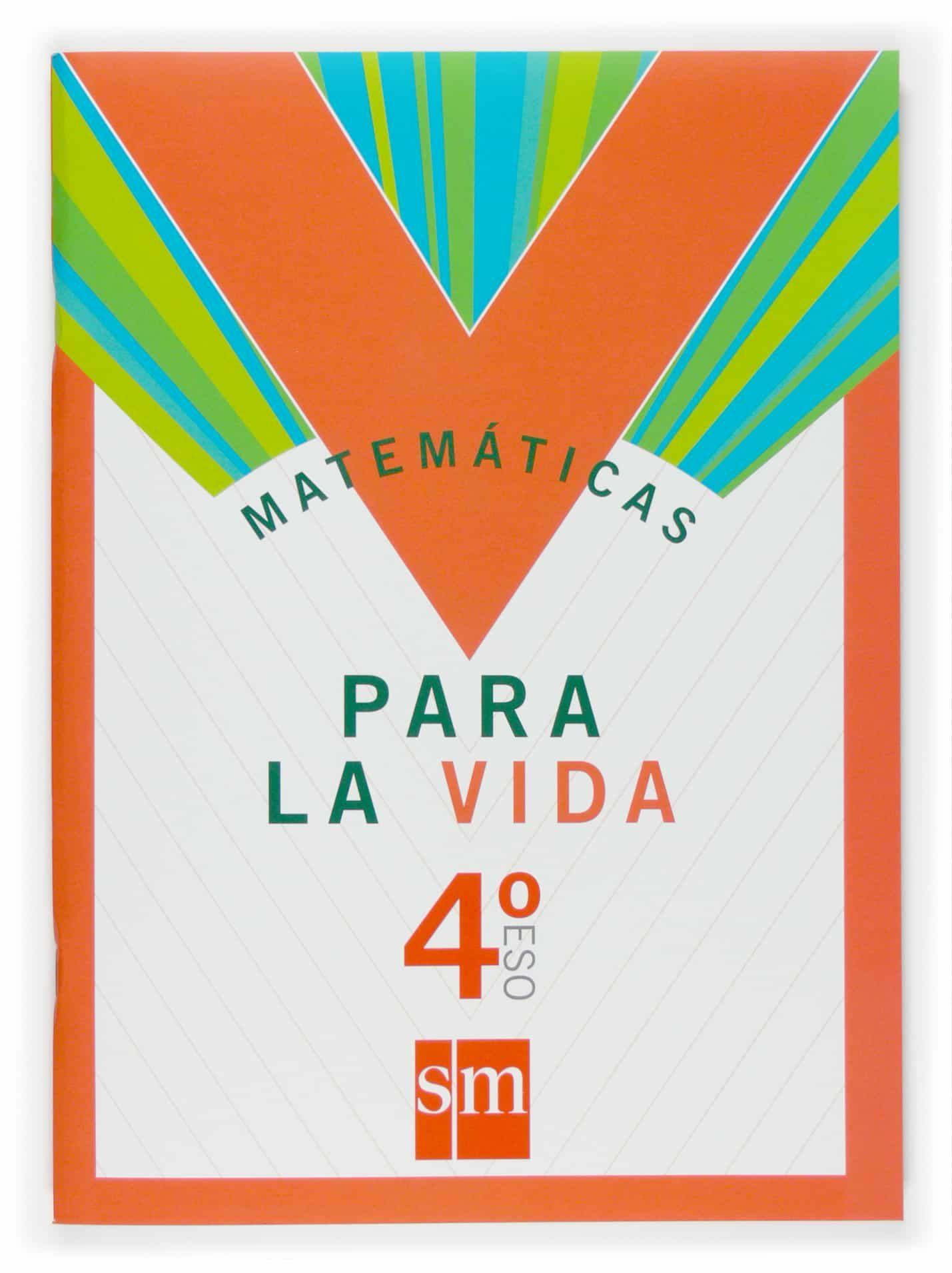 Cuaderno Matematicas Para La Vida 4º Eso por Vv.aa. epub