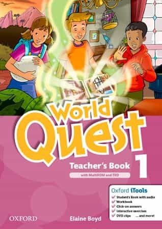 World Quest: 1: Teacher S Book Pack Ed 2013 por Vv.aa.