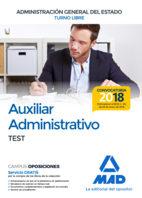 auxiliar administrativo de la administracion general del estado (turno libre): test-9788414214671