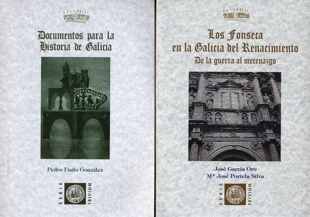 galicia en su historia: documentos para la historia de galicia. l os fonseca en la galicia del renacimiento-jose garcia oro-pedro fiaño gonzalez-9788415400271